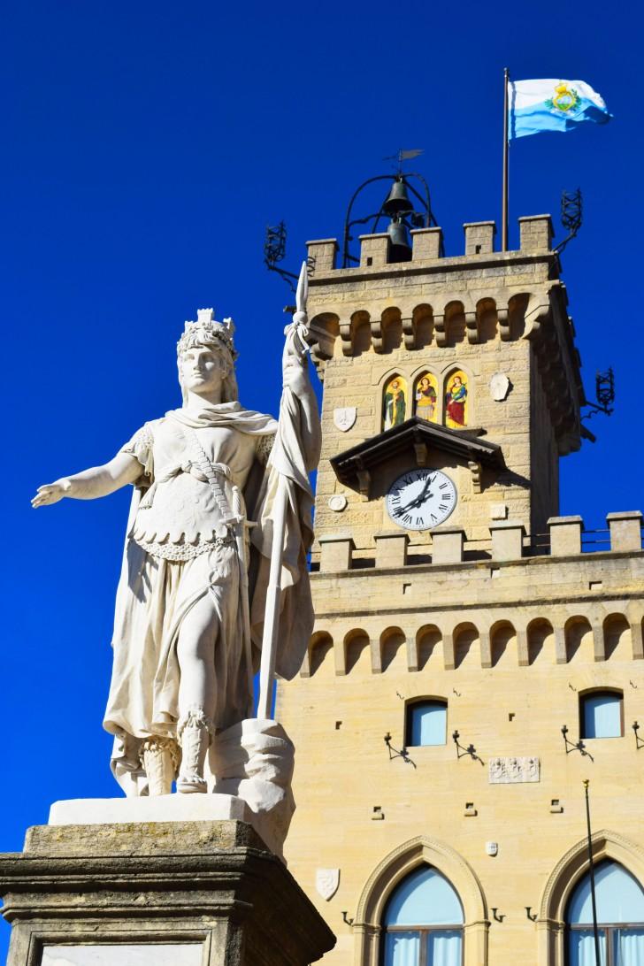 La Statua di San Marino