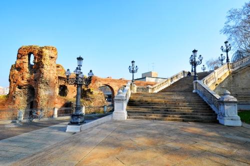 Rocca di Galliera e Scalinata del Pincio