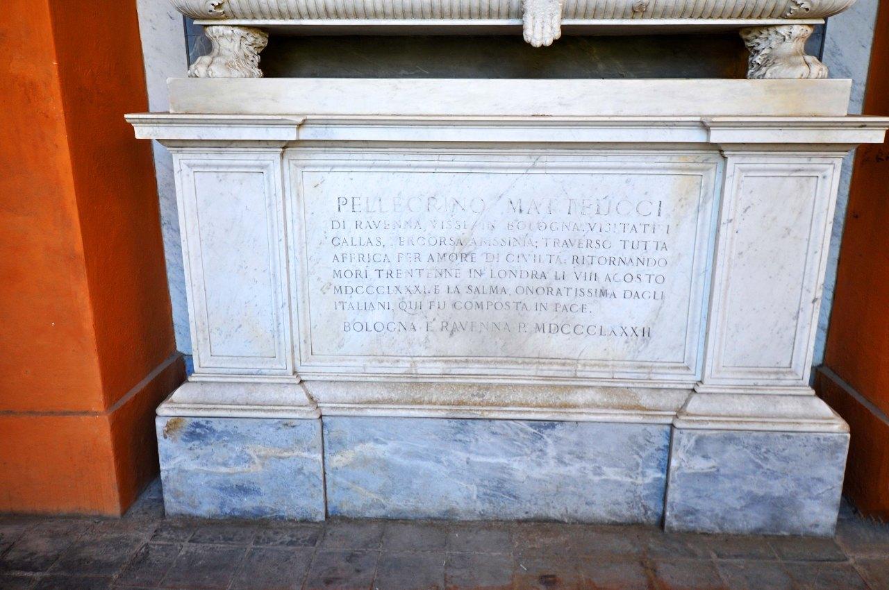 Chiostro V - Tomba Pellegrino Matteucci 3