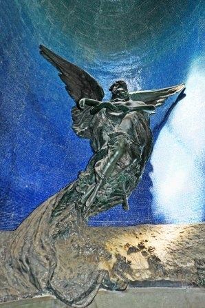 Chiostro VI. Cella Magnani. Capolavoro Liberty di Pasquale Rizzoli.