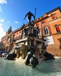 Tutte le sculture in bronzo sono dell'artista fiammingo