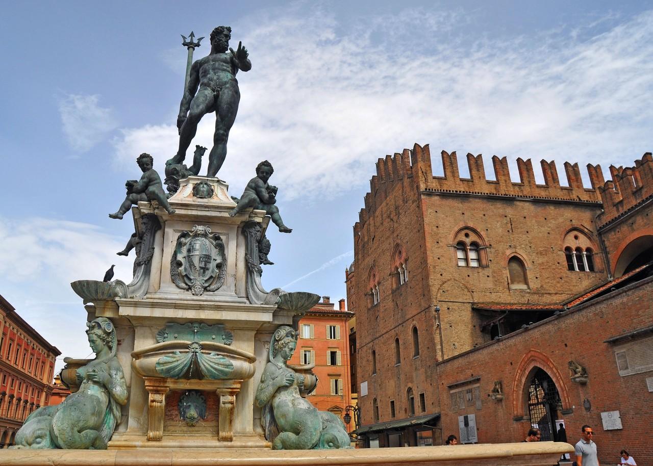 Bologna: Fontana delNettuno
