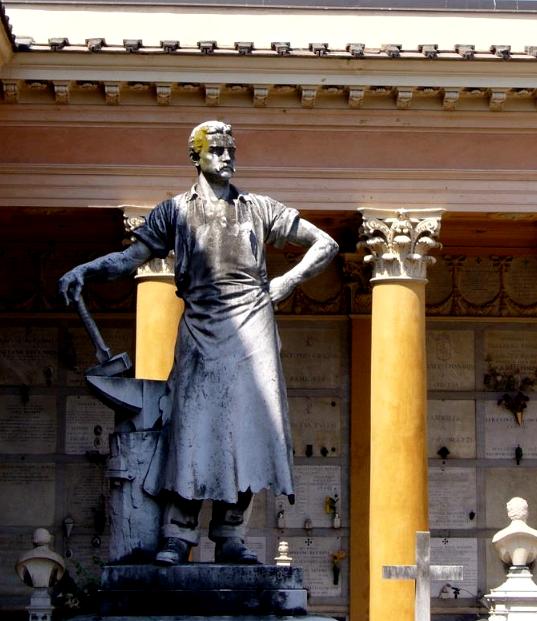 Chiostro VII - Monumento Simoli, 1895 (di Tullo Golfarelli)
