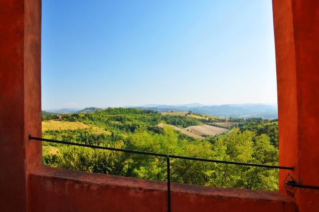 Veduta a sud dei colli bolognesi