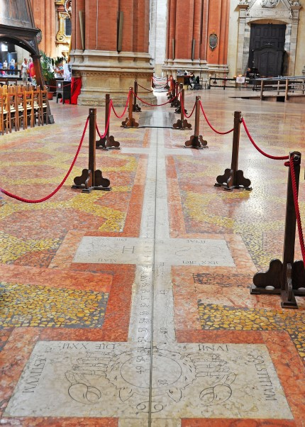 Meridiana, Basilica S. Petronio