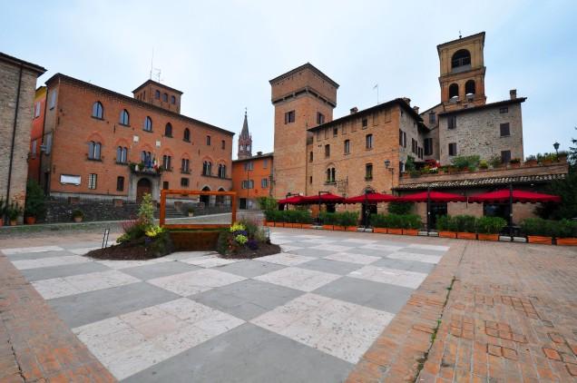 Palazzo Rinaldi e la Torre delle Prigioni