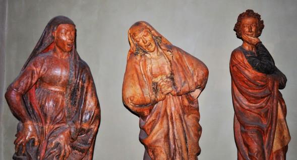 Maria Salome, la Madonna e Giovanni