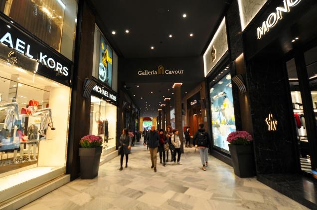 Galleria Cavour 3