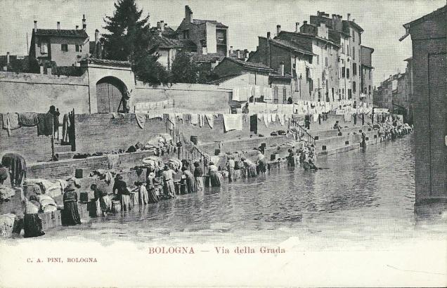 Lavandaie via Grada (da originebologna.com)