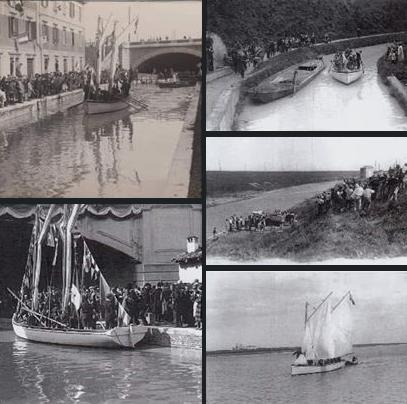 Canali navigabili da Bologna a Ravenna