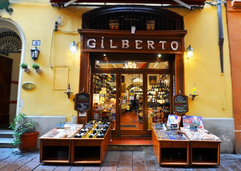 Via Drapperie-Drogheria Gilberto-Eliseo dal 1905