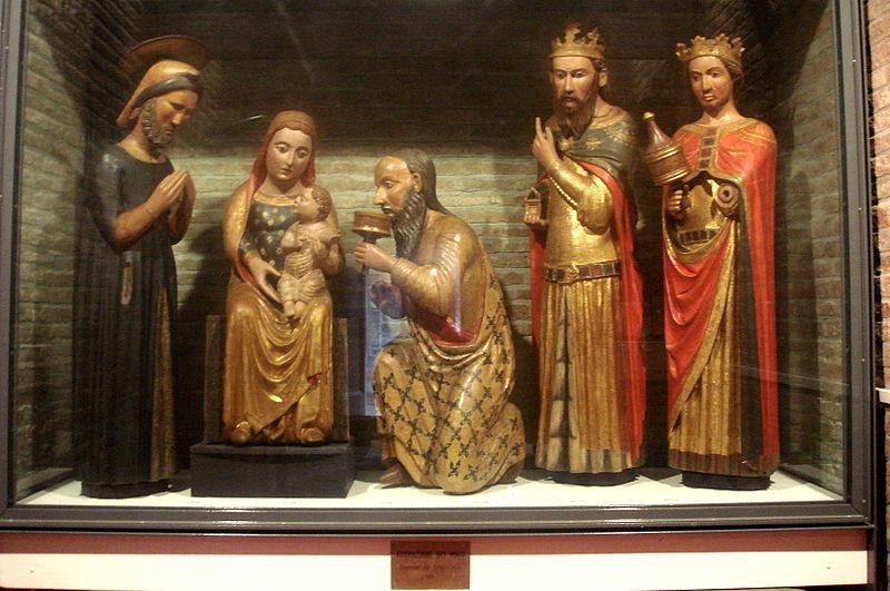 L'adorazione dei Magi in Santo Stefano (fonte: wikipedia)