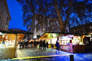 Mercatino di Natale Francese, piazza Minghetti