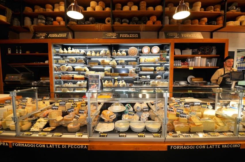 La Bottega dei formaggi italiani