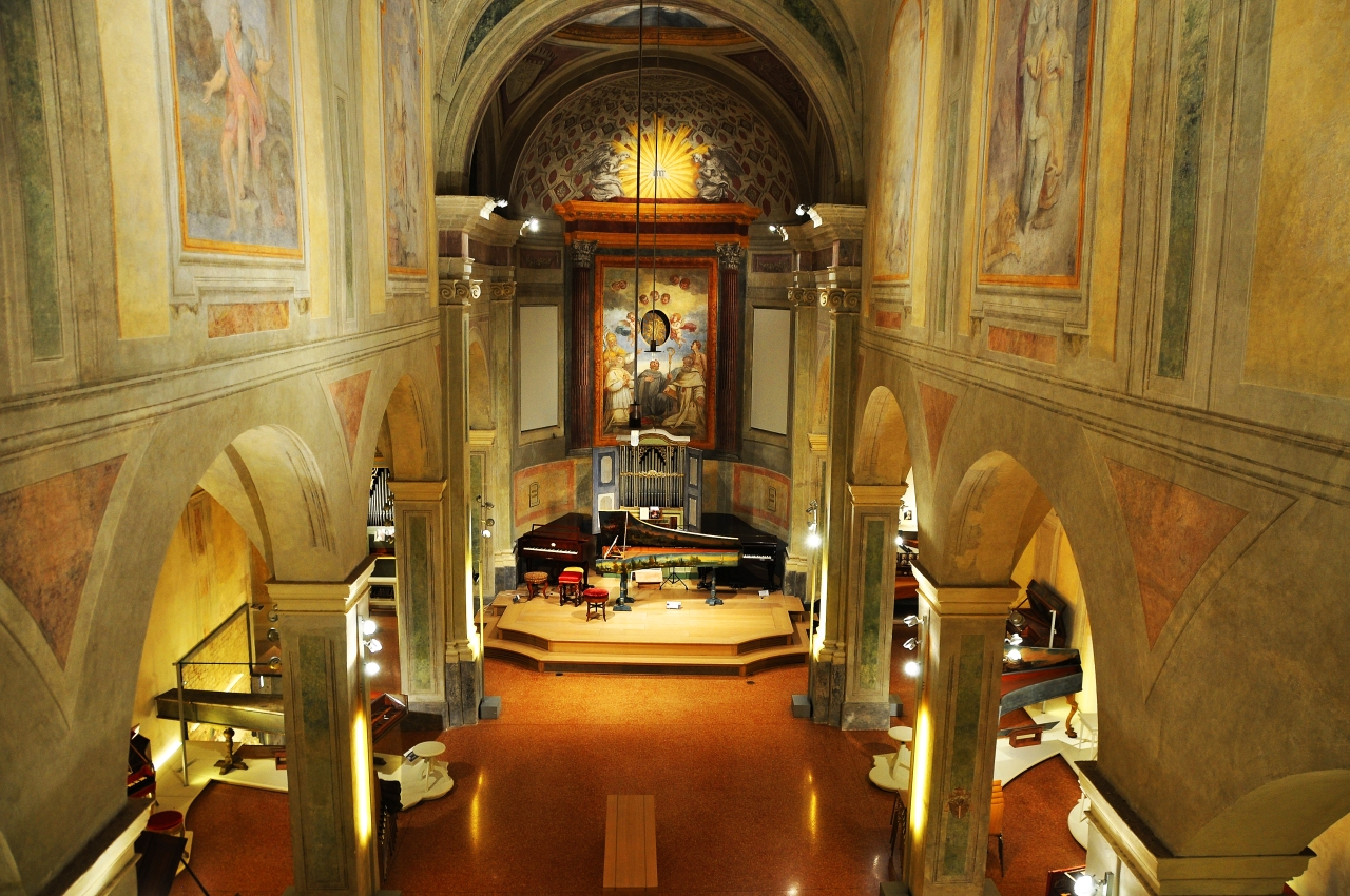 Bologna: San Colombano, Collezione Tagliavini (strumenti musicaliantichi)