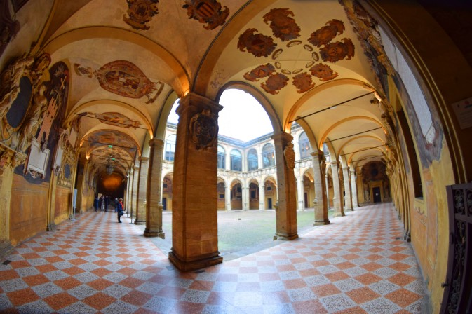 Palazzo dell'Archiginnasio (foto C. Kwiek)