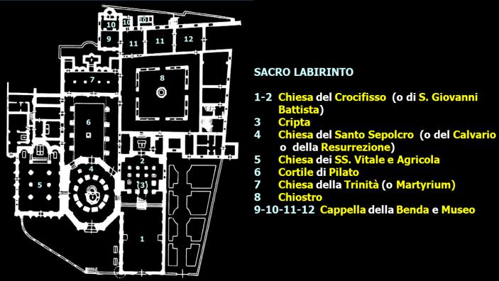 Mappa Basilica S Stefano