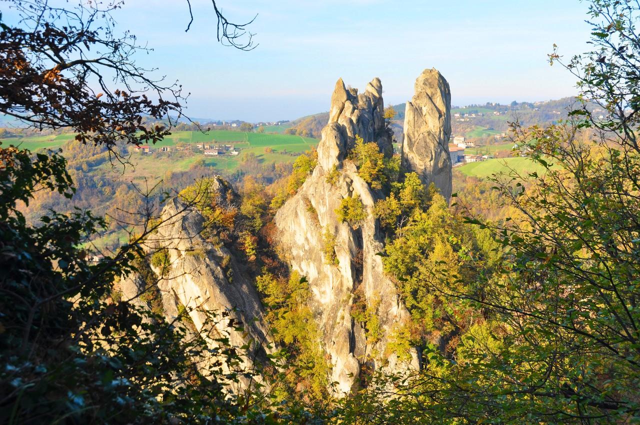 Breve itinerario nel Parco dei Sassi di RoccaMalatina
