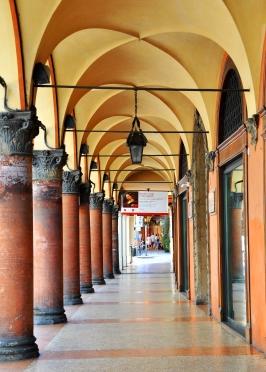 via Farini, Palazzo dei Saraceni (XV sec.)